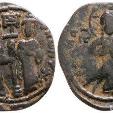 Monedas Imperio Bizantino: ANÓNIMO. FOLLIS. 6,76 G / 28 MM EBC-. Lote 252598715