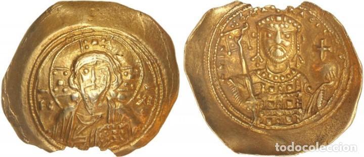 HISTAMENON NOMISMA. MIGUEL VII (1071-1078 D.C.). CONSTANTINOPLA. ELECTRÓN. SE-1868. EBC. (Numismática - Periodo Antiguo - Imperio Bizantino)