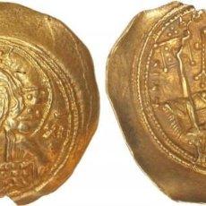 Monedas Imperio Bizantino: HISTAMENON NOMISMA. MIGUEL VII (1071-1078 D.C.). CONSTANTINOPLA. ELECTRÓN. SE-1868. EBC.. Lote 262359775