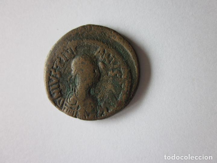 FOLLIS DE JUSTINIANO. COSTANTINOPLA. (Numismática - Periodo Antiguo - Imperio Bizantino)