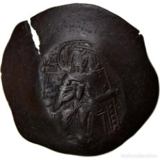Monedas Imperio Bizantino: MONEDA, ISAAC II ANGELUS, ASPRON TRACHY, 1185-1195, CONSTANTINOPLE, MBC. Lote 268295704