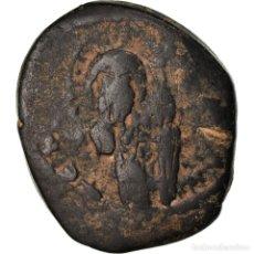 Monedas Imperio Bizantino: [#871867] MONEDA, ANONYMOUS, FOLLIS, 1034-1041, CONSTANTINOPLE, RESTRIKE, BC+, COBRE. Lote 269101488