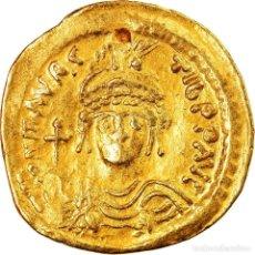 Monedas Imperio Bizantino: [#905759] MONEDA, MAURICE TIBERIUS, SOLIDUS, 583-602, CONSTANTINOPLE, MBC+, ORO, SEAR:478. Lote 274292158
