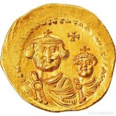 Monedas Imperio Bizantino: [#906295] MONEDA, HERACLIUS, SOLIDUS, 610-641, CONSTANTINOPLE, MBC, ORO, SEAR:743. Lote 274292328