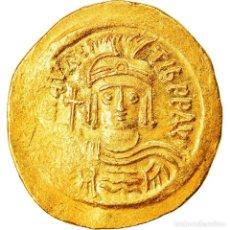 Monedas Imperio Bizantino: [#906293] MONEDA, MAURICE TIBERIUS, SOLIDUS, CONSTANTINOPLE, MBC, ORO, SEAR:478. Lote 274292333
