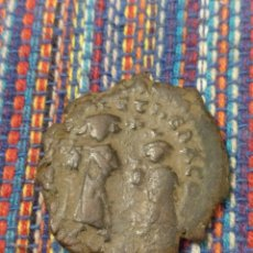 Monedas Imperio Bizantino: FOLLIS DEL EMPERADOR HERACLIO CON SU HIJO HERACLIO CONSTANTINO ( 610-641 D.C.) 26 MM. BIZANCIO. Lote 275139028