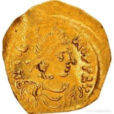Monedas Imperio Bizantino: [#867301] MONEDA, MAURICE TIBERIUS, TREMISSIS, CONSTANTINOPLE, EBC, ORO, SEAR:488. Lote 278229348