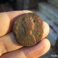 Monedas Imperio Bizantino: FOLLIS ANASTASIO I CONSTANTINOPLA 14,5 GRS. Lote 294067023