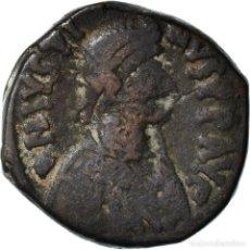 Monedas Imperio Bizantino: [#898604] MONEDA, JUSTIN I, FOLLIS, 518-527, CONSTANTINOPLE, BC+, COBRE, SEAR:62. Lote 295421878