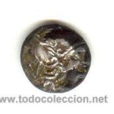 Monedas Imperio Romano: BARATO QUINARIO FORRADO REPUBLICA ROMANA (211-210 A.C.) PROCEDENTE DE SUBASTA FALSO FALSA DE ÉPOCA. Lote 27275370