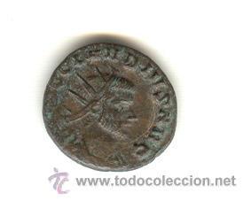 MUY BONITO ANTONINIANO CLAUDIO AURELIO MARCO GÓTICO (268-270 D.C.) VENCEDOR DE LOS GODOS (Numismática - Periodo Antiguo - Roma Imperio)