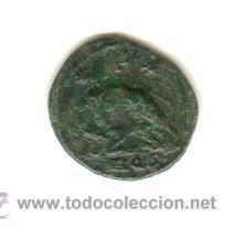 MEDIO CENTENIONAL URBS ROMA CON LA LOBA AMAMANTANDO A RÓMULO Y REMO (Numismática - Periodo Antiguo - Roma Imperio)