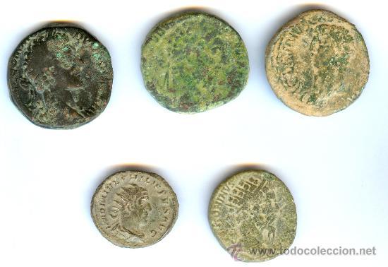 LOTE MONEDAS IMPERIO ROMANO (Numismática - Periodo Antiguo - Roma Imperio)
