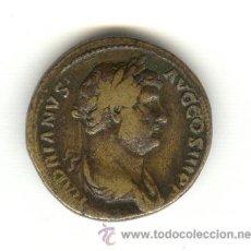 Monedas Imperio Romano: HISPANIA RARO SESTERCIO DEL EMPERADOR ADRIANO (117-138 D.C.) EMPERADOR NACIDO EN HISPANIA. Lote 27546411
