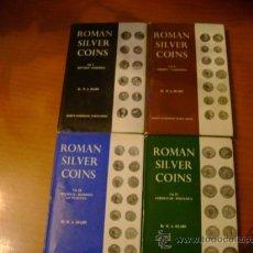 Monedas Imperio Romano: LIBROS ANTIGUOS ROMAN SILVER COINS MONEDAS DE PLATA ROMANAS. Lote 26794314