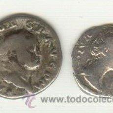 Monedas Imperio Romano: BARATO LOTE DE DOS DENARIOS EMPERADOR VESPASIANO Y FAUSTINA MADRE. Lote 25981535