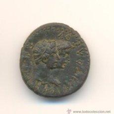 Monedas Imperio Romano: RARO Y BONITO BRONCE DE AUGUSTO Y RHOEMETALKES I CON SU ESPOSA CECA DE TRACIA (11 A.C.-12 D.C.). DIÁ. Lote 24021773