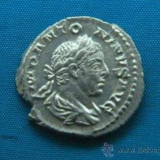 Monedas Imperio Romano: HELIOGABALO & GENIO SENADO - DENARIO - ROMA - IMPERIO ROMANO. Lote 27689690