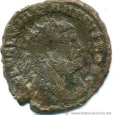 Monedas Imperio Romano: FOLIS DE CONSTANCIO I, 22 M/M, CECA DE CARTAGO, R / ( VOT X K ) RIC VI 35A (ESCASA). Lote 29933127