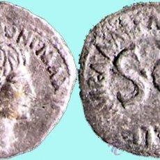 Monedas Imperio Romano: ROMA IMPERIO - M. SALVIUS OTTO (12 A. J.C.) AS BRONCE 11,9 GRS. CONSERVACIÓN MBC-. Lote 30102628