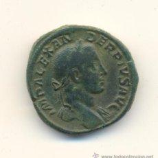 Monedas Imperio Romano: EXCELENTE SESTERCIO DEL EMPERADOR ALEJANDRO SEVERO (222-235 D.C.) PESO MUY ALTO: 29 GRAMOS.. Lote 31377332