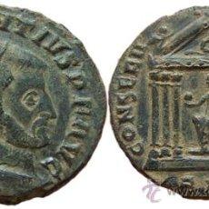 Monedas Imperio Romano: *** MAGNÍFICO Y ESCASO FOLLIS DE MAJENCIO 307DC AQUILEIA -AQP- ***. Lote 31718949