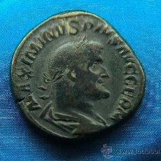 Monedas Imperio Romano: SESTERCIO - MAXIMINO TRACIO & SALUS - MONEDA DE BRONCE - ROMA - IMPERIO ROMANO. Lote 32283072