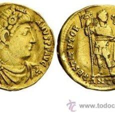 Monedas Imperio Romano: ESCASO SOLIDO DE ORO DE VALENTINIANO I (364-375 D.C). Lote 32325476