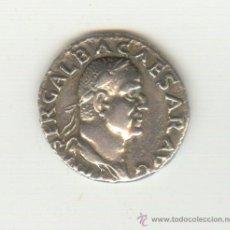Monedas Imperio Romano: MUY BONITO DENARIO DEL EMPERADOR GALBA (68-69 D.C.) REVERSO: DIVA AUGUSTA. Lote 34180972
