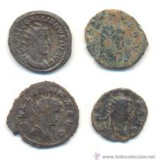 Monedas Imperio Romano: BONITO LOTE DE CUATRO ANTONINIANOS DE GALIENO. Lote 35548073