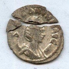 Monedas Imperio Romano: MONEDA ROMANA DE PLATA SALONINA (ROTA). Lote 35894567
