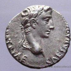 Monete Impero Romano: BONITO DENARIO DE AUGUSTO (27AC-14 DC) PRIMER EMPERADOR ROMANO. PESO: 3,6 GRS CAYO Y LUCIO. Lote 36571955
