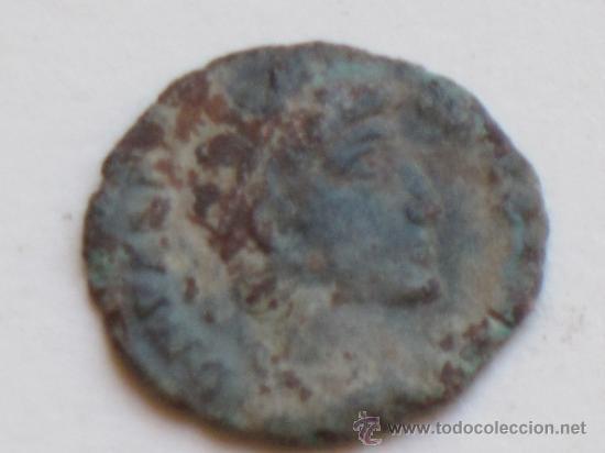 MONEDA ROMANA ANTIGUA EN COBRE. (Numismática - Periodo Antiguo - Roma Imperio)