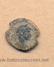 MONEDA 823 MONEDA ROMANA BUENOS DETALLES PESO 2 GRAMOS MEDIDAS SOBRE 13 X 13 MM (Numismática - Periodo Antiguo - Roma Imperio)