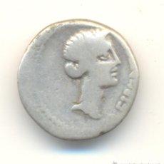 Monedas Imperio Romano: MUY RARO DENARIO DE BRUTO. ASESINO DE JULIO CÉSAR. LIBERTAD. LIRA.. Lote 39376090