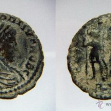 Monedas Imperio Romano: CONSTANCIO II 336-350 DC GLORIA EXERCITVS. Lote 41341471