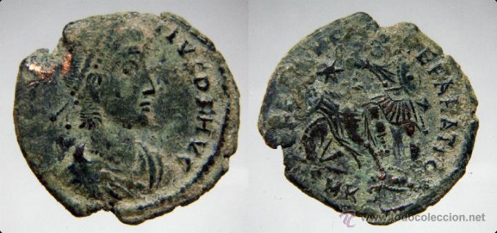 MONEDA DEL EMPERADOR ROMANO CONSTANCIO (Numismática - Periodo Antiguo - Roma Imperio)