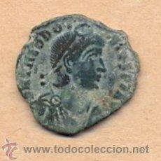 Monedas Imperio Romano: BRO 68 - MONEDA ROMANA - TEODOSIO - ARIPA - SNRB - BELLOS DETALLES - MEDIDAS SOBRE 23 X 20 MM PES. Lote 43120063