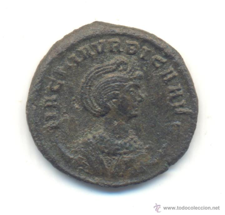 MUY RARO ANTONINIANO DE MAGNIA URBICA CECA DE TICINUM CATÁLOGO R.I.C. Nº347 COHEN Nº15 REVERSO:VENUS (Numismática - Periodo Antiguo - Roma Imperio)