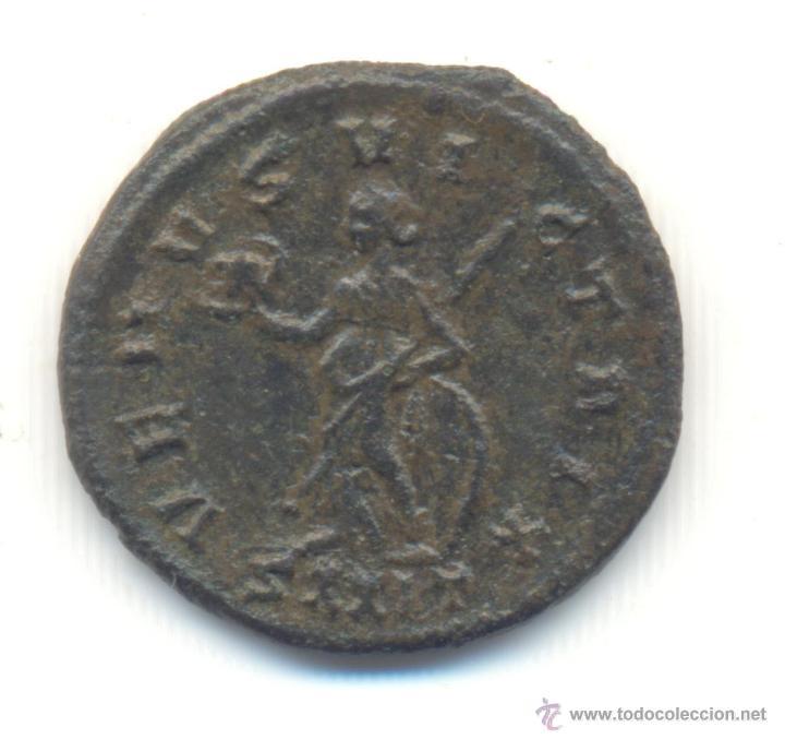 Monedas Imperio Romano: MUY RARO ANTONINIANO DE MAGNIA URBICA CECA DE TICINUM CATÁLOGO R.I.C. Nº347 COHEN Nº15 REVERSO:VENUS - Foto 2 - 43199648