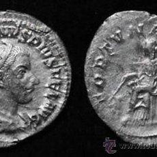 Monedas Imperio Romano: 139--INTERESANTE Y BONITO ANTONINIANO EN PLATA DE GORDIANO III--238 D.C.-EXCELENTE. Lote 43926025