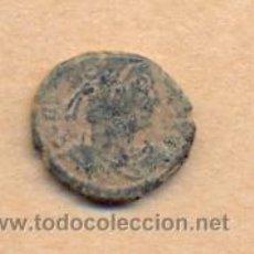 Monedas Imperio Romano: BRO 113 - MONEDA ROMANA - REVERSO PERSONAJES - MEDIDAS SOBRE 15 X 13 MM PESO SOBRE 2 GRAMOS. Lote 44074096