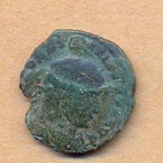 Monedas Imperio Romano: BRO 153 - MONEDA ROMANA AUGUST ? REVERSO FIGURAS ESTILIZADAS MEDIDAS 20 X 20 MM PESO SOBRE 1 GR. Lote 44204972