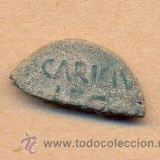 Monedas Imperio Romano: BRO 158 - CARICI - CAESAR AUGUSTA FRACCIÓN DE MONEDA ROMANA PARA CIRCULAR CON MENOR VALOR. Lote 44205903