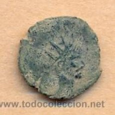 Monedas Imperio Romano: BRO 195 - MONEDA ROMANA REVERSO FIGURA ESTILIZADA MEDIDAS SOBRE 17 MM PESO SOBRE 1 GRAMO. Lote 44479275