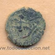 Monedas Imperio Romano: BRO 196 - MONEDA ROMANA AUSO REVERSO FIGURA ESTILIZADA MEDIDAS SOBRE 15 X 16 MM PESO SOBRE 2 GR - Foto 3 - 44481313