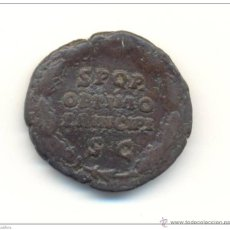 Monedas Imperio Romano: RARO AS DE ANTONINO PIO (138-161 D.C.) RARO REVERSO SENATUS POPULUSQUE. Lote 44695439