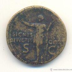 Monedas Imperio Romano: RARO DUPONDIO DE GERMANICO (15 A.C-19 D.C.). Lote 45594915