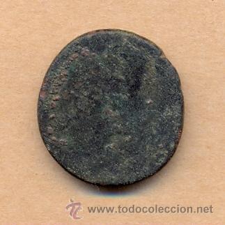 Monedas Imperio Romano: BRO 217 MONEDA ROMANA IMPERIO ANVERSO BUSTO AUSCAESARVG - REVERSO FIGURA MEDIDAS SOBRE 27 MM PES - Foto 3 - 45662630