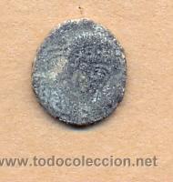 MON 933 - MONEDA ROMANA IMPERIO MEDRAU EN REVERSO ANVERSO BUSTO LAUREADO MEDIDAS SOBRE 15 MM PE (Numismática - Periodo Antiguo - Roma Imperio)